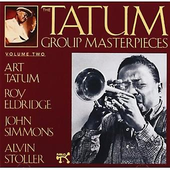 Tatum/Eldridge/Simmons/Stoller - Tatum Group Masterpieces No. 2 [CD] USA import
