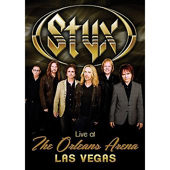 Styx - Live at the Orleans Arena Las Vegas [DVD] USA import