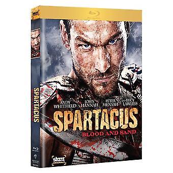 Spartacus: Blod og Sand - komplet første sæson [4 diske] [BLU-RAY] USA import