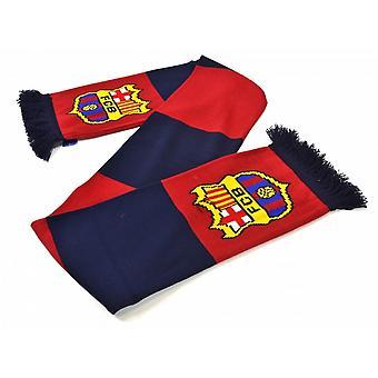 FC Barcelona virallinen jalkapallo Jacquard Neulo Bar Huivi