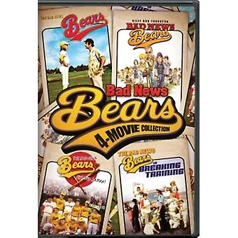 Bad News Bears (4-Movie Collection) [DVD] USA import