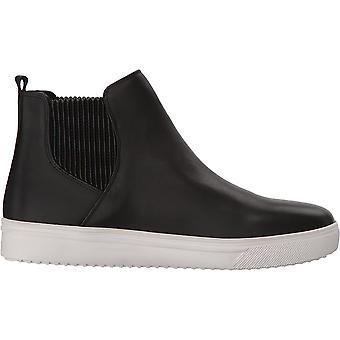 Blondo Women's Gennie Waterproof Sneaker, black leather, 6 M US