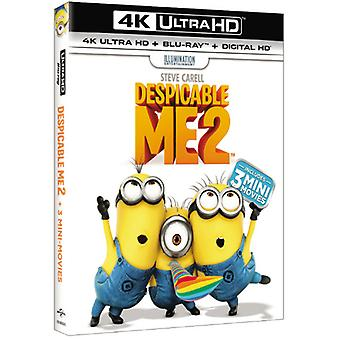 Despicable Me 2 [Blu-Ray] USA importieren