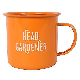 Something Different Head Gardener Enamel Mug