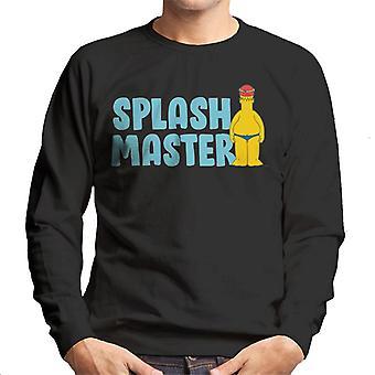 The Simpsons splash Master mænd ' s sweatshirt