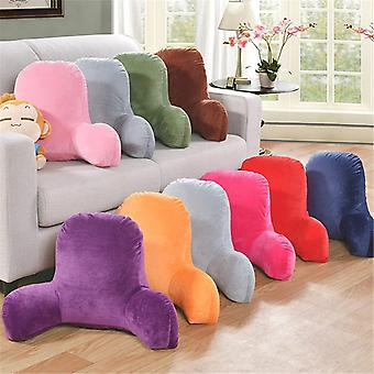 Plüsch große Rückenlehne Lesen Rest Kissen, Lumbar Unterstützung Stuhl Kissen mit Armen