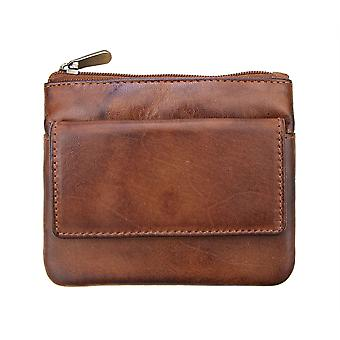Primehide Small Womens Leather Coin Purse Wallet RFID Blocking Ladies Card 6450