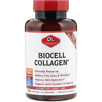 Laboratoires olympiens, collagène BioCell, 100 capsules