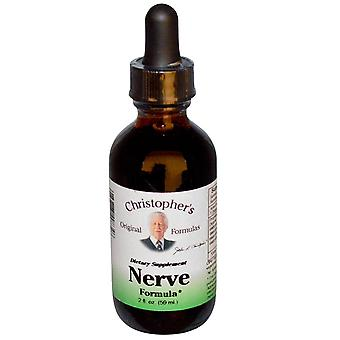 Christopher's Original Formulas, Nerve Formula, 2 fl oz (59 ml)
