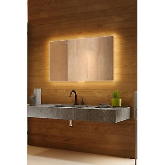 Thena bakgrunnsbelyst speil med sensor, demister og barbermaskin socket k754BLCW