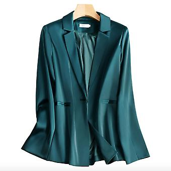 Satin Slim Fit Ol Temperament Suit Jacket