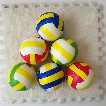 Squeeze Ball Toy Football Basketball Soft Foam Sponge Anti Stress Baseball Tennis Toys For Kids Children