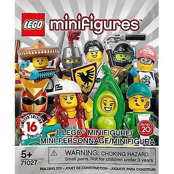 LEGO 71027 Minifigure Series 20 Random Set of 1 Minifigure