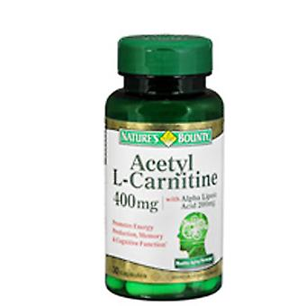 Nature's Bounty Acetyl L-Carnitine With Alpha Lipoic Acid, 24 X 30 Caps