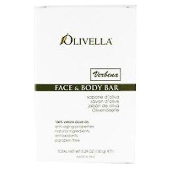 Olivella Bar Soap, Verbena Fragrance 5.29 oz