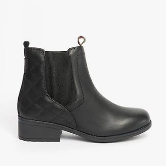 بربور ريميني السيدات الجلود الكاحل أحذية الأسود