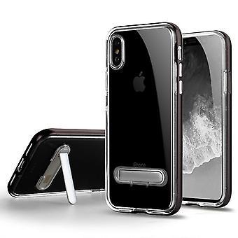 Anti-impact Case with slot for Apple iPhone 6 Plus Gray hesenkeji-191