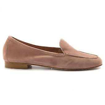 Moccassus Woman Nouvelle Femme In Suede Powder