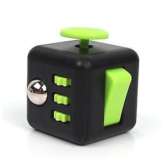 Mini Cube Vinyl Desk Finger Toys- Squeeze Fun Stress Reliever Antistress 3.3cm