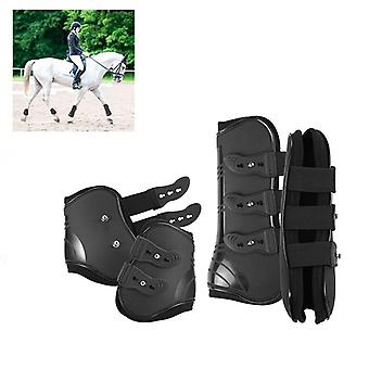 Hevosen jalkasuojakengät, pehmeä elastinen hihnan suojus, käytännöllinen kestävä,