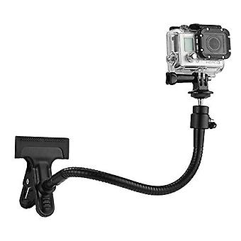 Camkix clamp mount compatible with gopro hero 8 black, hero 7, hero 6 black, hero 5 black, session,