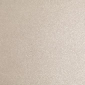 10 Sheets A4 Sand Double Sided Beige Pearlescent Card