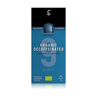 Decaffeinated Coffee Capsules Intensity 9 Eco 10 capsules