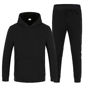 Men's Fleece Warm Jogging Sportswear Suit