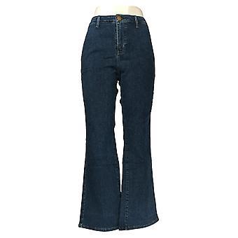 BROOKE SHIELDS Women's Jeans Timeless Regular Flare Indigo Blue A351358