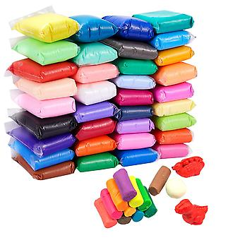 36 Colors air dry clay, magic clay artist studio toy, no-toxic modeling clay & dough, creative art d