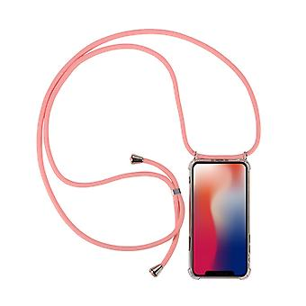 H-basics phone chain for Samsung Galaxy A50 necklace case cover - Necklace case made of flexible TPU silicone