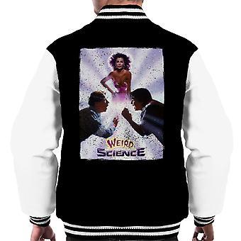 Weird Science Teater Affisch Män's Varsity Jacket