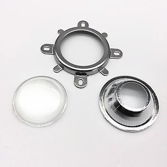Led-objektiivi optinen lasi, 44mm heijastin collimator kiinteä kiinnike
