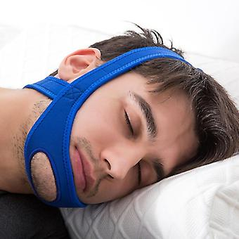 Neopreeni anti kuorsaus lopeta kuorsaus leukahihna vyö anti apnea leuka ratkaisu nukkua