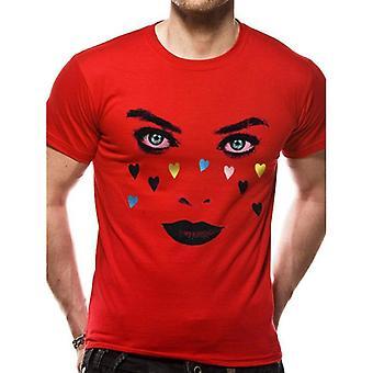 Birds Of Prey Unisex Adult Face T-Shirt
