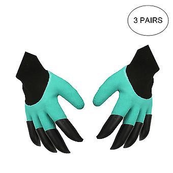 Gants de jardinage flexibles respirants