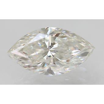 Zertifiziert 0.62 Karat F VVS2 Marquise Enhanced Natural Loose Diamond 7.98x4.4mm