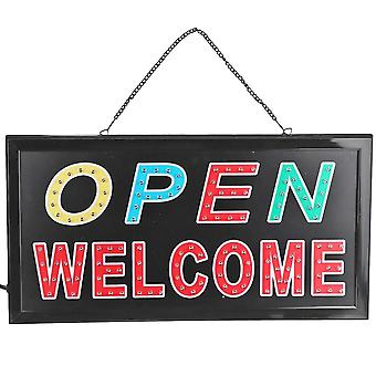 Led Store Open Sign Advertising Light Board