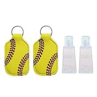 Hand Sanitizer Keychain Holder Travel Bottle Refillable Containers