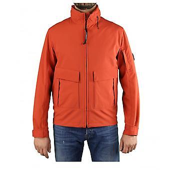 C.p. Company Shell R Burnt Ochre Jacket