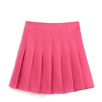 Women Mini Skirt, High Waist Zipped Safe Classical Tennis Skirt