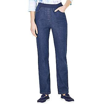 Chums Pull On Jersey Waist Stretch Jean With 2 Front Pockets