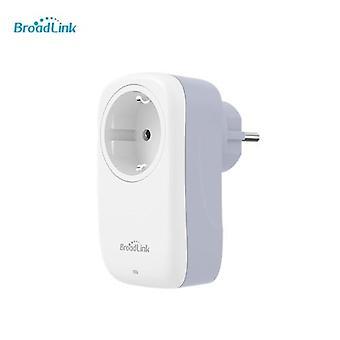 Broadlink BestCon SP4L-EU Type-E WiFi -pistoke 16A Sähköpistoke Puhelin APP Kaukosäädin Alexa Google Home Ääniohjaus IFTTT