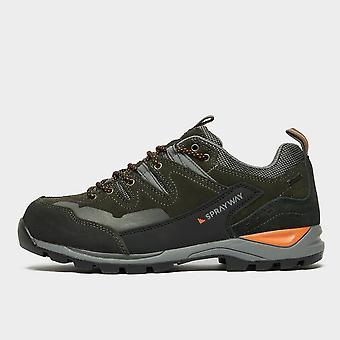 New Sprayway Men's Oxna HydroDRY Walking Shoe Grey