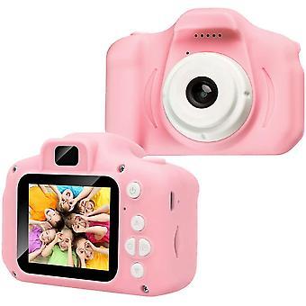 FengChun Kinder Fotoapparat - Kinderkamera mit 2,0 Zoll 1080P HD IPS-Bildschirm Eingebaute 32 GB