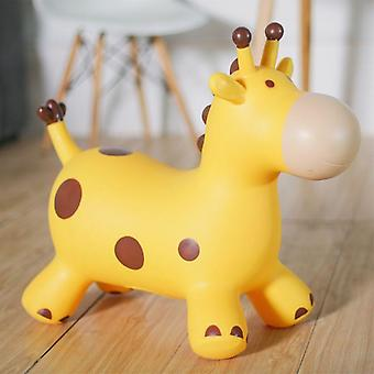 Bouncy Giraffe Hopper, Inflatable Jumping Bouncing Animal