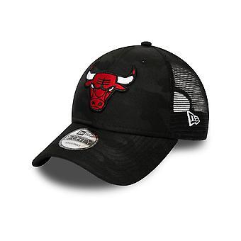 New Era Chicago Bulls 9FORTY Seasonal The League Cap in Black