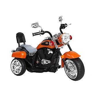Kindermotor driewieler elektrisch bestuurbaar – Oranje
