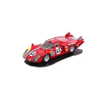 Alfa Romeo T33-2 (Le Mans 1968) Resin Model Car
