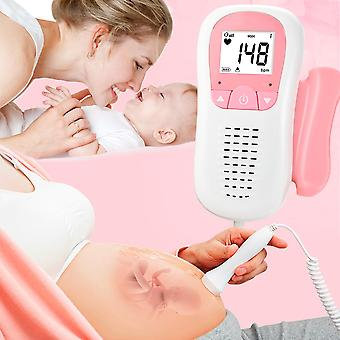 Fetal Heartbeat Detector Baby Care Household Portable for Pregnant Fetal Pulse Meter No Radiation Stethoscope